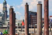 Hafen Hamburg / Reise Report / der Hafen mit Speicherstadt, HafenCitiy und den Landungsbrücken