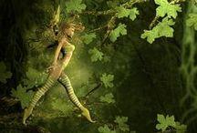 Fairies & other beautiful creatures ♥ feetjes & andere mooie wezens / Feetjes en andere fantasiefiguurtjes wat is daar nu niet leuk aan.... / by Daniëlle Design