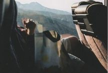far away * traveling