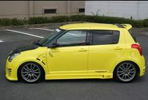Suzuki Swift / On this board I collect tuning ideas because I own a yellow Suzuki Swift and want to improve it visually. Hopefully, you'll find some nice resources for yourself!