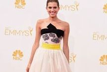 Emmys 2014 Style File / Check out some of the eye catching inspirational styles that graced the red carpet at the 66th emmys in 2014. Be inspired and create your styles with custom design digital printed on your fabric and delivered to you. www.chimoraprint.com