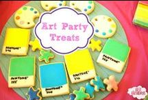 Art Painting Birthday Party