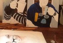 My art / Messing around