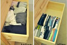 Organization / Tips and tricks to help you organize your life