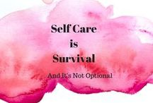 Self Care / Reduce stress & stay fresh with these self care strategies