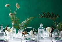 Emerald Color Wedding / Главный цвет 2013 года - изумрудный. Почерпните вдохновение для вашего торжества!