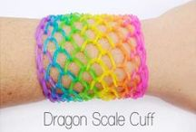 loom bands / how to make loom bands