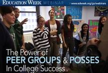 """College and Career Ready / Join fellow educators, teachers, parents, and students, for webinars, live chats, and leading edge ideas about what constitutes """"college and career ready."""""""