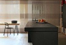 tiles as funiture/joinery