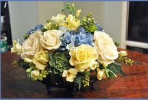 D.I.Y fake flower arrangements. / How to make fake flowers look real and fake everyone.