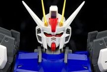 Gundam / Figur Aksi Gundam, Model Berskala, Mecha dan Robot Raksasa