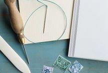 Bookbinding / Editorial and handmade binding!