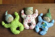игрушки текстильные