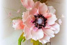 цветы из фоамирана+ягоды.грибы / цветы