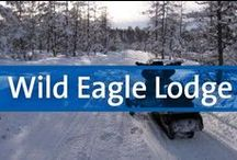 Wild Eagle Lodge - Eagle River, WI / Nestled on the forested edge of the Eagle River Chain of 28 Lakes (the world's largest inland chain of lakes), is Wild Eagle Lodge, a resort offering an all-encompassing experience of relaxation, luxury, and year-round activities.