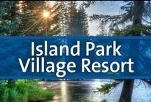 Island Park Village Resort - Island Park, Idaho / Island Park Village Resort is an all-seasons playground near the west entrance to Yellowstone National Park. On-site facilities include an indoor pool, a racquetball court, a sauna, two therapy pools, tennis, a nine-hole golf course, and a pro shop. Every type of freshwater trout fishing can be found within a 30-minute drive. West Yellowstone, gateway to Yellowstone National Park, is just 22 miles north. Snowmobiling is very popular in the area, which boasts over 500 miles of groomed trails.