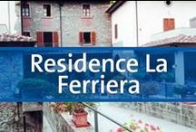 Residence La Ferriera - Tuscany, Toscana, Italy / Located in Arezzo area, one of the most important medieval Italian centres. The great cities of Tuscany - Siena, Pisa, and above all Florence, are within easy reach by car or train. La Ferriera presents an impressive property standing on the banks of the small river that winds its way over rocks and on down through the delightful little Tuscan town of Loro Ciuffenna.