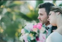 Almudena & Javier's Wedding / Rustic eco-friendy Wedding. Pink & Green Colors. Green Candy Bar. Pink & Green bouquet