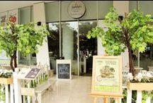Nanny's Pavillon - Terrace / Nanny's Pavillon - Terrace Central Park, Sogo Unit café - 02 GF Jl. Letjend. S. Parman Kav. 28, Jakarta 11470 ☎ (021) 5698 5750 / (021) 5698 5751