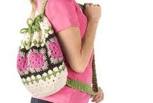 Creating - crochet (bags)