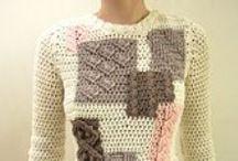 Creating - crochet (woman fashion)