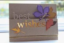 Cards for display / These are cards that were not a class but just made for store displays.