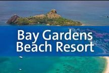 Bay Gardens Beach Resort - St. Lucia / Enjoy the beauty and culture of St. Lucia by day, and the thriving nightlife of Rodney Bay Village at night. From the historical marina treasured by pirates in the 1700s to the two largest shopping malls on St. Lucia and the new Treasure Bay Casino, there's something for everyone at Bay Gardens Beach Resort. The modern resort is nestled on Reduit Beach where you can relax by the lagoon-style pool or unwind with a tropical beverage on the warm, sandy beach.