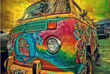 Have Trust In The Rust✌️ / Hippie Vans✌️