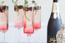 Baubles, Bubbles & Cheers! / Drinks for any occasion, even #wine tasting on the couch.
