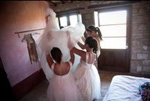 Getting ready at Podere Finerri / #wedding #tuscany