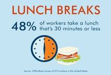 What's for Lunch? / How to make the most of your lunch break.