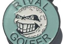 Rival Golfer Accessories / Rival Golfer is a fast paced, colourful golf accessories brand based in Brisbane, Australia. We aim to create product which are interesting, fun and of course practical. Our F.R.A.N.K. logo is a one of a kind! Enjoy what we have to offer.