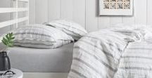 Striped Duvet  Cover, Striped Bed Sheets / Linen Ticking Striped Duvet Cover, Black and White Stripe, Grey Stripe, Striped Bed Linens. Style your master bedroom, guest rooms in farmhouse Style. Get free swatches at http://www.superiorcustomlinens.com/linen-swatches-put-swatch-in-cart-one-at-a-time-free-catalog/