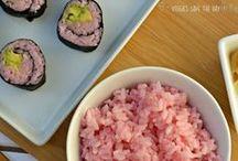 Vegan Sushi / Favorite vegan sushi recipes!