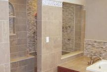 Bathroom Remodels / Luxurious bathroom remodels create functionality and calming retreats