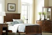 The Master Suite / Your master bedroom suite should be your own private sanctuary.  Here are a few ideas of furnishings to make your bedroom a relaxing haven where you can rest and rejuvenate.