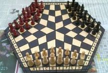 ANTIQUE  CHESS  SETS / by eugen podolean