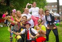 Children's Entertainers London / The most funtabulous, colourful, whacky and multi-talented kids party entertainers London offers.  Email: jojo@jojofun.co.uk Tel: 07743 196691