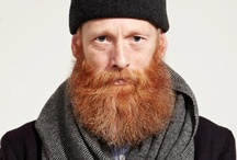 red B E A R D / men with red beards (different shades)