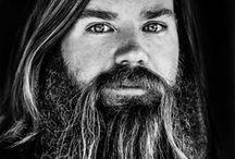 long B E A R D / men with long beards