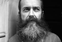multi-coloured B E A R D / multi-coloured beards