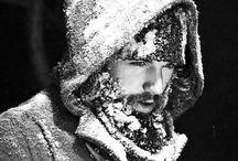 snow B E A R D / bearded men in the snow