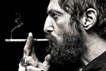 smoking B E A R D / men and smoke