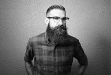 B E A R D and adam / adam boehmer, his beard and sometimes glasses