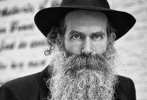B E A R D and hasidics / men of jewish faith