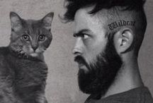 B E A R D and cats / meow