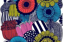 Värejä, kuvia, printtejä