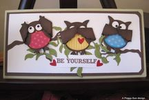 owl punch / Stampin up owl punch