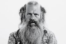 rick's B E A R D / rick rubin - rock and beard legend