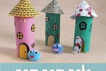 DIY Activities For Kids / Fun and easy DIY activities for children